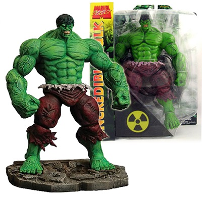 Action Figure Marvel Select Green Hulk Collectors Edition 25 cm