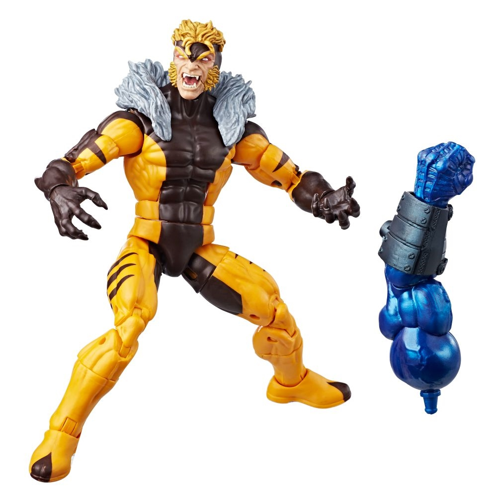Action Figure Marvel Legends Séries  X-Men Sabretooth 15 cm