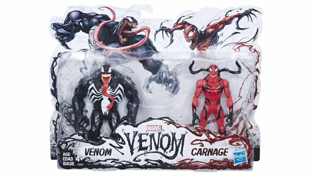 Action Figure Marvel Legends Séries 2-Pack Venom & Carnage 15 cm