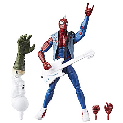 Action Figure Marvel Legends Séries Spider-Punk 15 cm