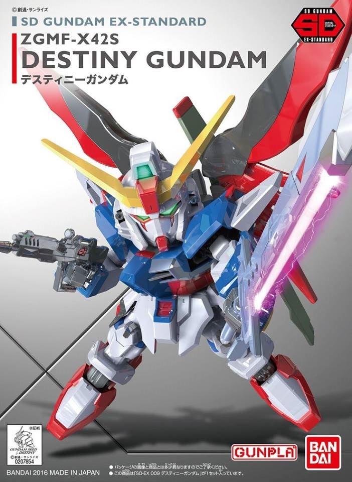 SD Gundam Destiny Ex-Standard 009