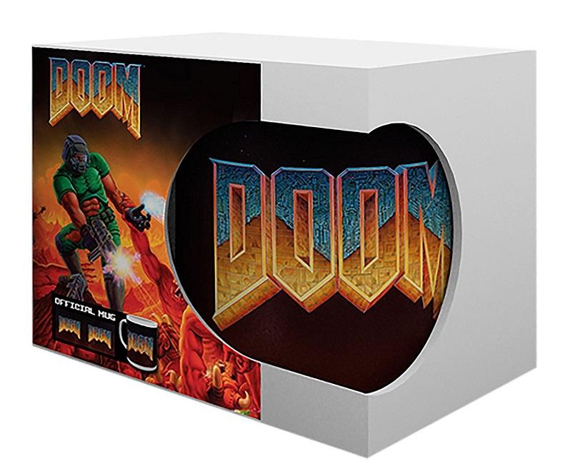 Caneca Doom Classic Logo