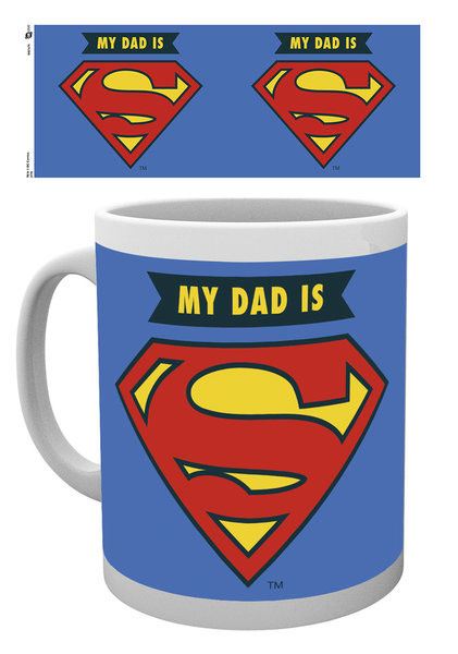 Caneca DC Comics My Dad Is Superman