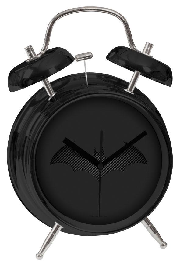 Relógio Despertador Batman Black Batarang