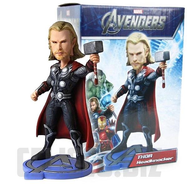 Marvel Avengers Thor Headknocker 20 cm