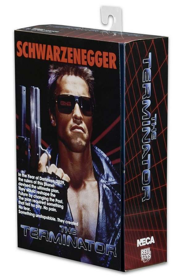 Action Figure Terminator - T-800 Tech Noir Ultimate Deluxe 18 cm