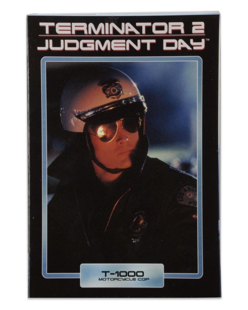 Terminator 2 - T-1000 Motorcycle Cop Ultimate Action Figure 18 cm