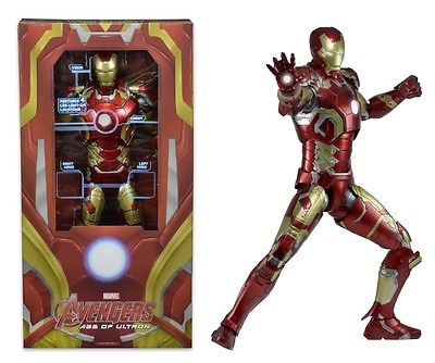 Action Figure Avengers 2 Age Of Ultron IRON MAN Mark 43 1/4 Scale 45 cm