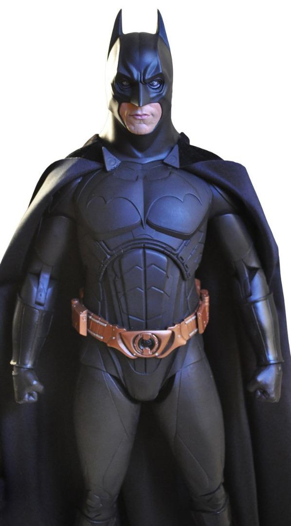 Action Figure Batman Begins Christian Bale as BATMAN Deluxe 1/4 Scale 46 cm