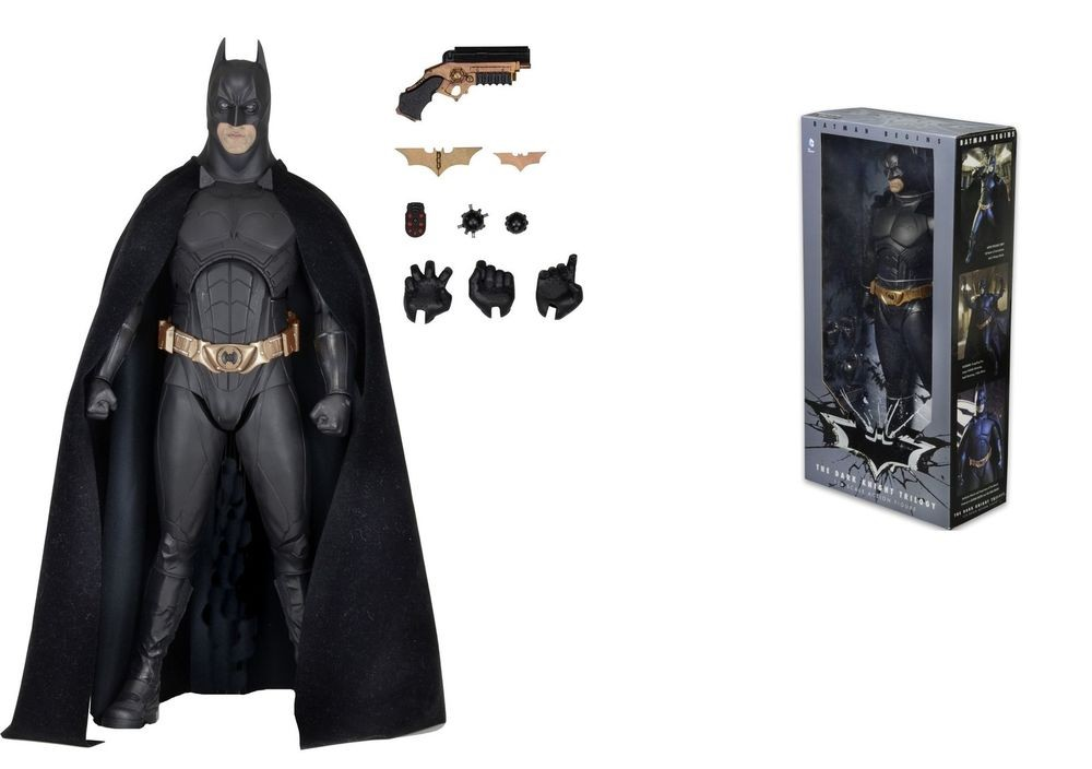 Action Figure Batman Begins Christian Bale as BATMAN Deluxe 1/4 Scale 46 cm