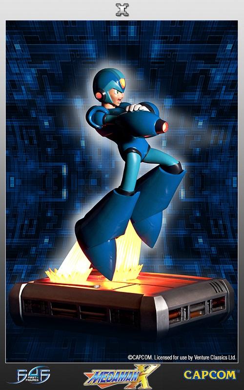 Estátua  Mega Man: Megaman X  45 cm