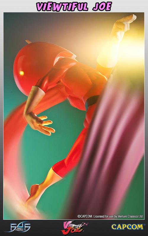 Estátua Viewtiful Joe Regular Limited Edition 35 cm