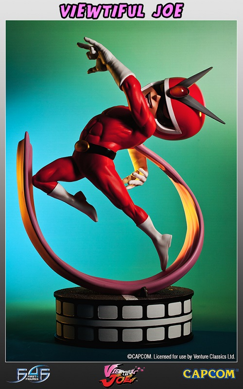 Estátua Viewtiful Joe Regular Limited Edition 35 cm