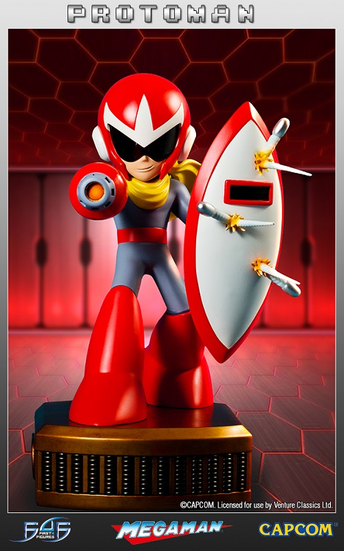 Estátua Mega Man: Protoman Regular Limited Edition 33 cm