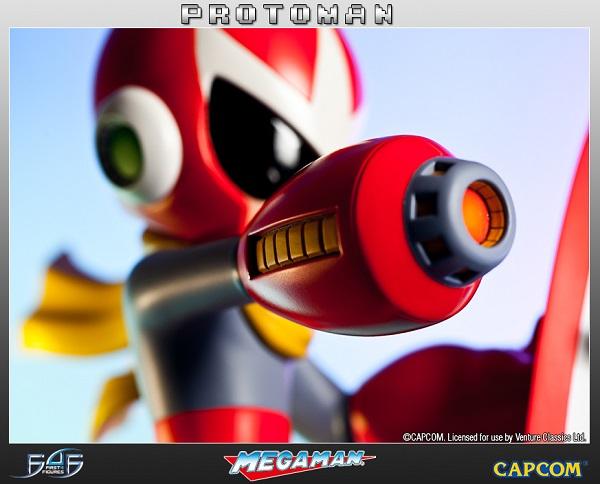 Estátua Mega Man: Protoman Regular Limited Edition 33 cm