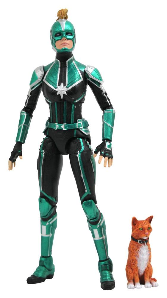 Captain Marvel Marvel Select Action Figure Captain Marvel Starforce Uniform
