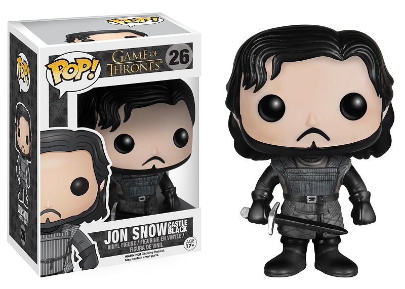 Funko POP! Game Of Thrones - Jon Snow Castle Black/Training Ground 10 cm