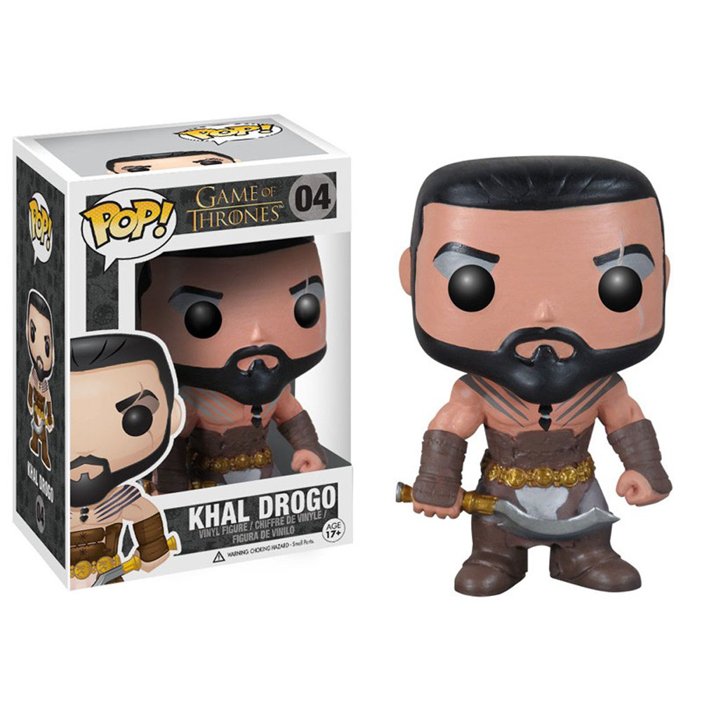 Game Of Thrones POP! Khal Drogo Vinyl Figure 10 cm