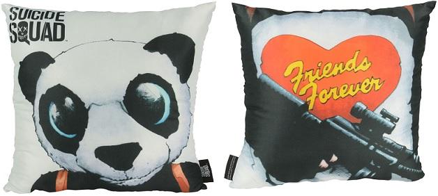 Almofada Suicide Squad Panda 40 x 40 cm (2 faces)