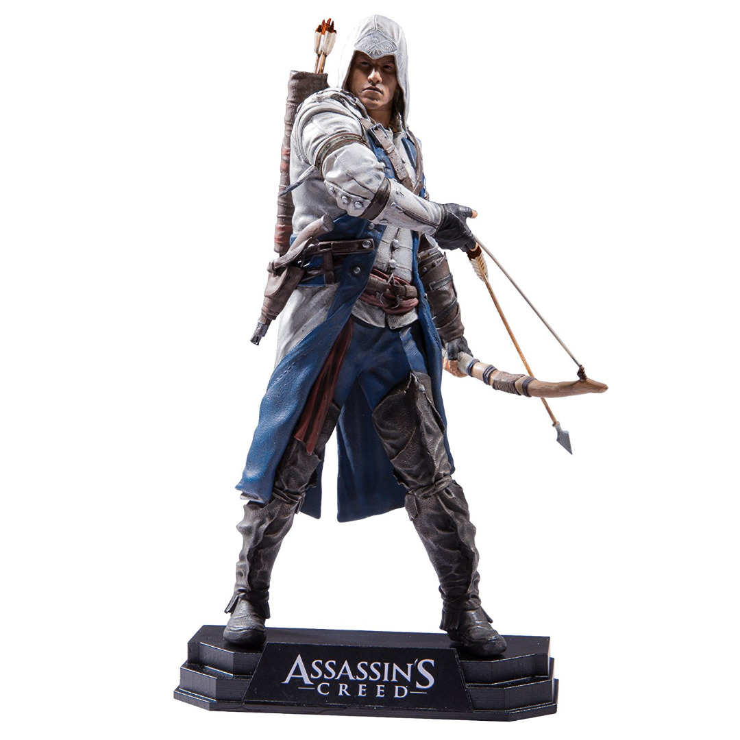 Action Figure Assassin's Creed III Color Tops Connor 18 cm