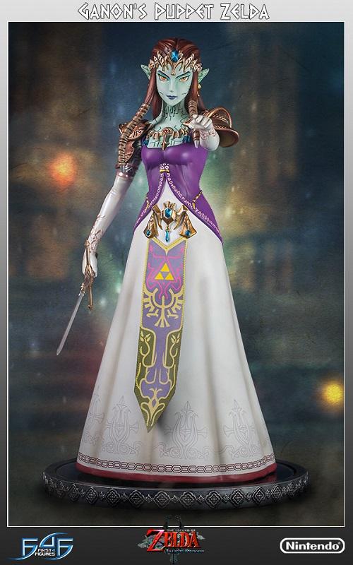 Estátua Leg. of Zelda Twilight Princess: Ganon's Puppet Lim. Edition 38 cm