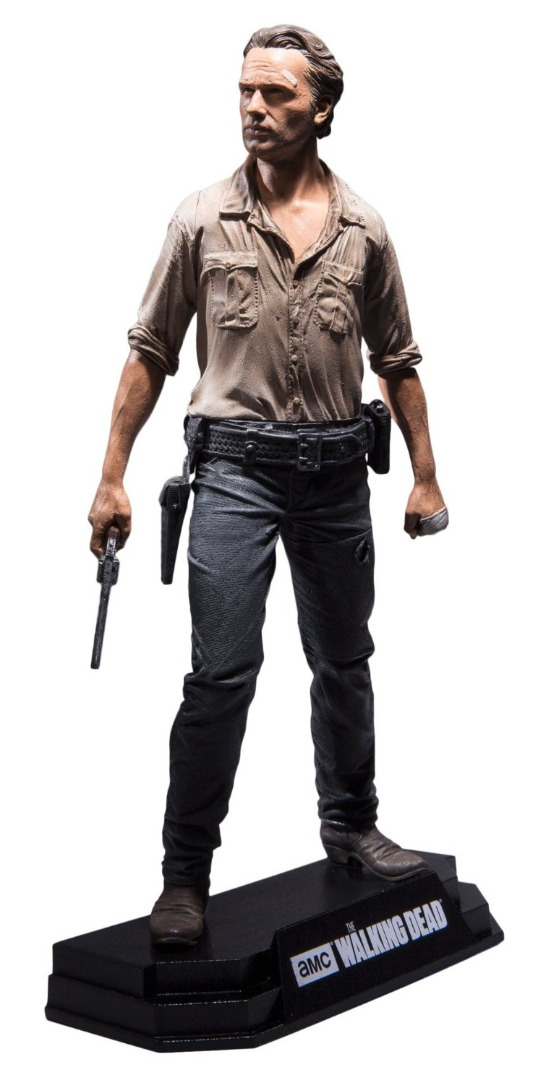 Action Figure The Walking Dead TV Version Color Tops Rick Grimes 18 cm