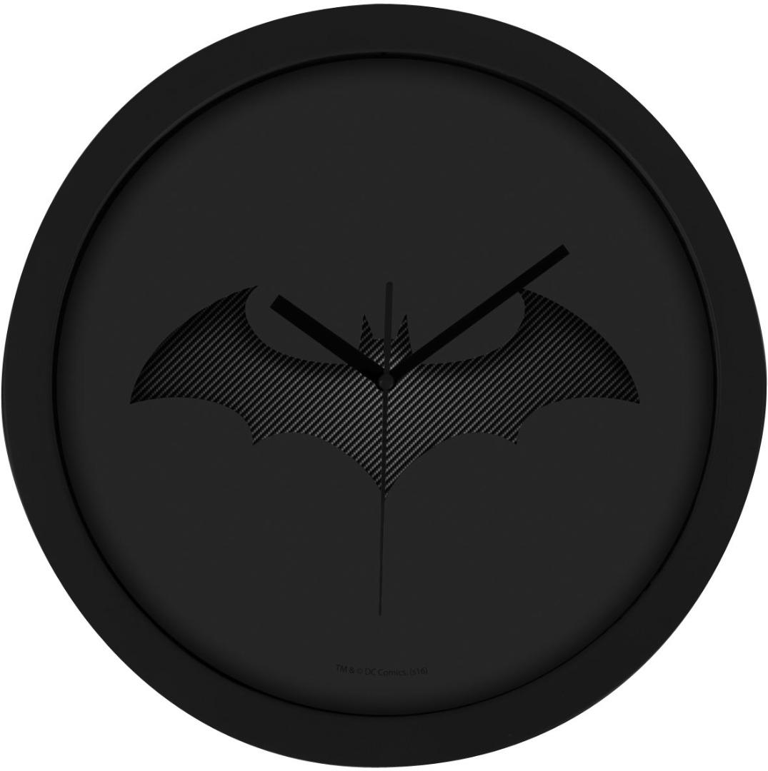 Relógio de parede Batman Black Batarang