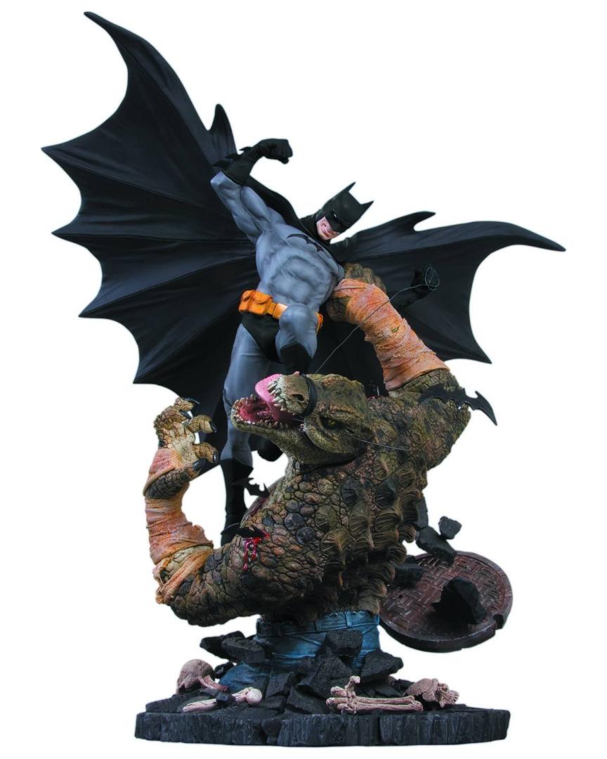 Estátua DC Comics Batman vs. Killer Croc 2nd Edition 42 cm
