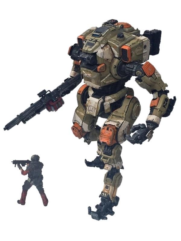Action Figure Titanfall 2 Deluxe BT-7274 25 cm + Figura  Jack Cooper
