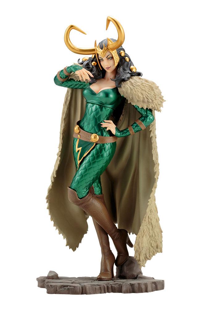 Estátua PVC Marvel Bishoujo 1/7 Loki 25 cm