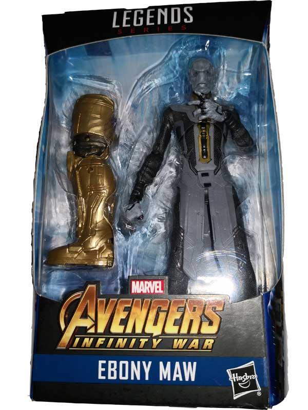 Action Figure Marvel Legends Avengers Infinity War - Ebony Maw 15 cm