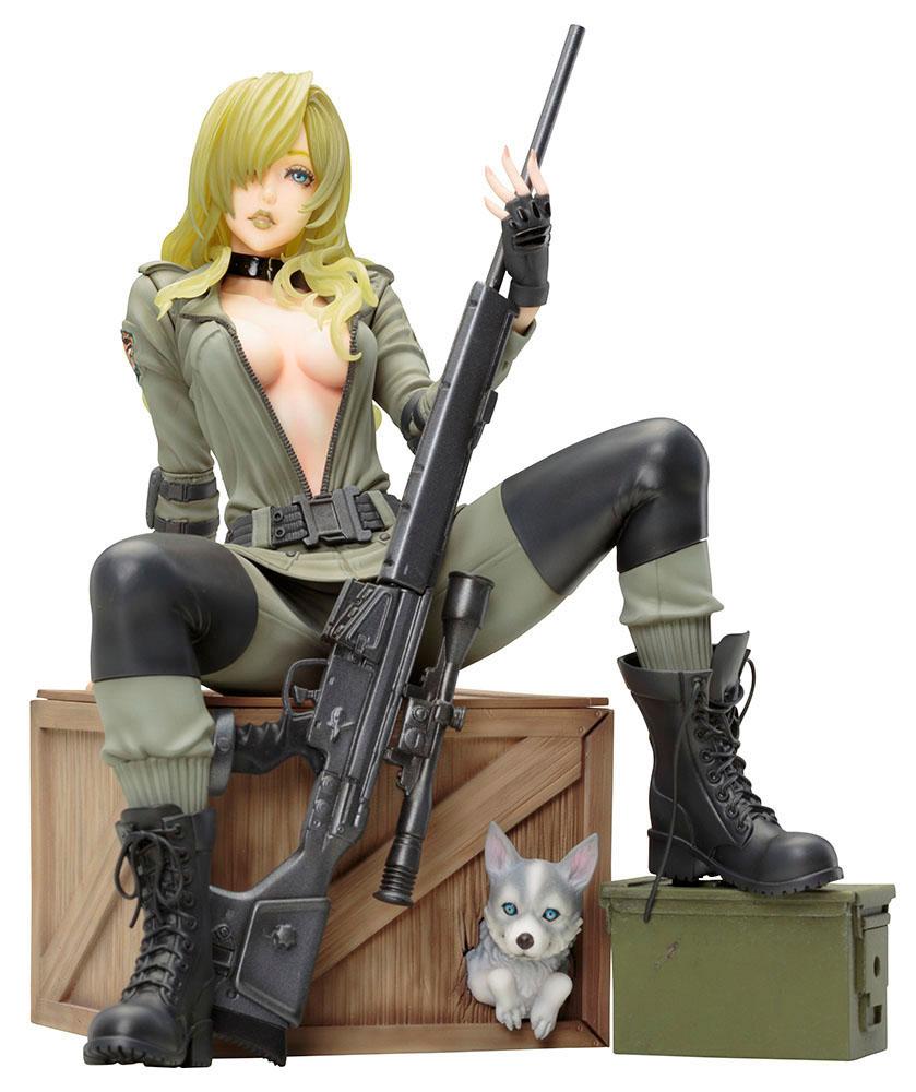Estátua PVC Metal Gear Solid Bishoujo 1/7 Sniper Wolf 19 cm