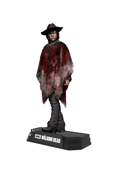 The Walking Dead TV Version Color Tops Action Figure Carl Grimes 18 cm