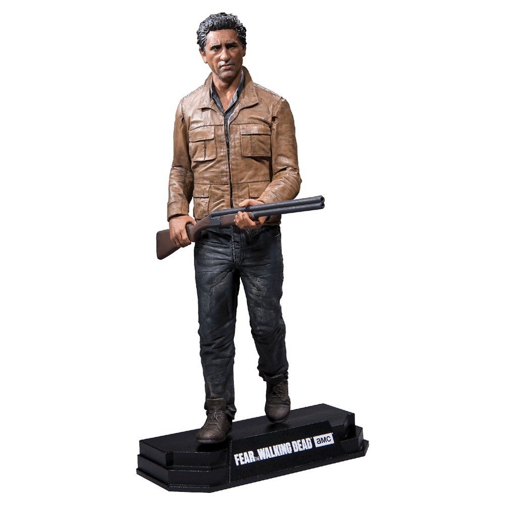Fear The Walking Dead Color Tops Action Figure Travis Manawa 18 cm