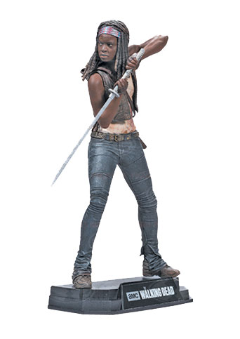 The Walking Dead TV Version Color Tops Action Figure Michonne 18 cm