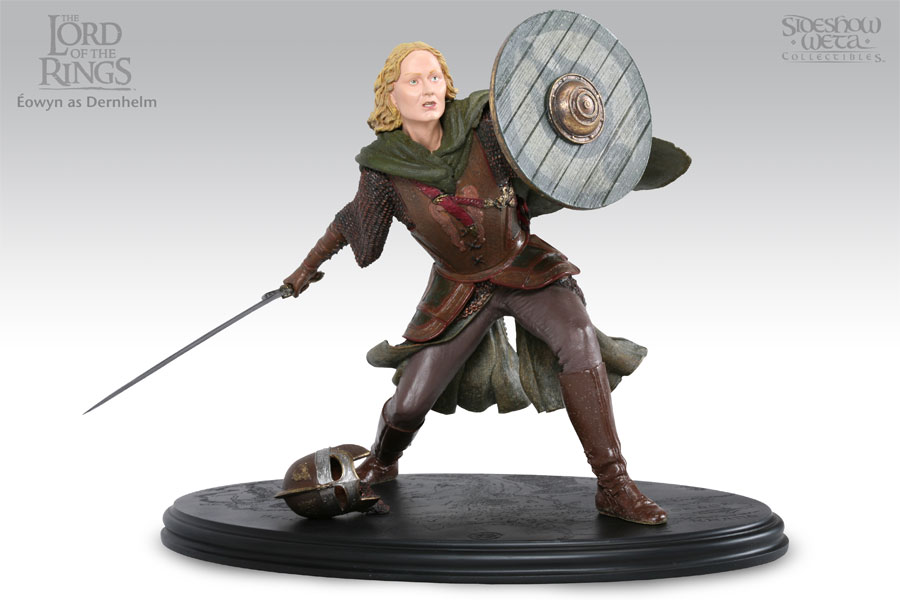 Estátua Lord of The Rings EOWYN AS DERNHELM 26 cm