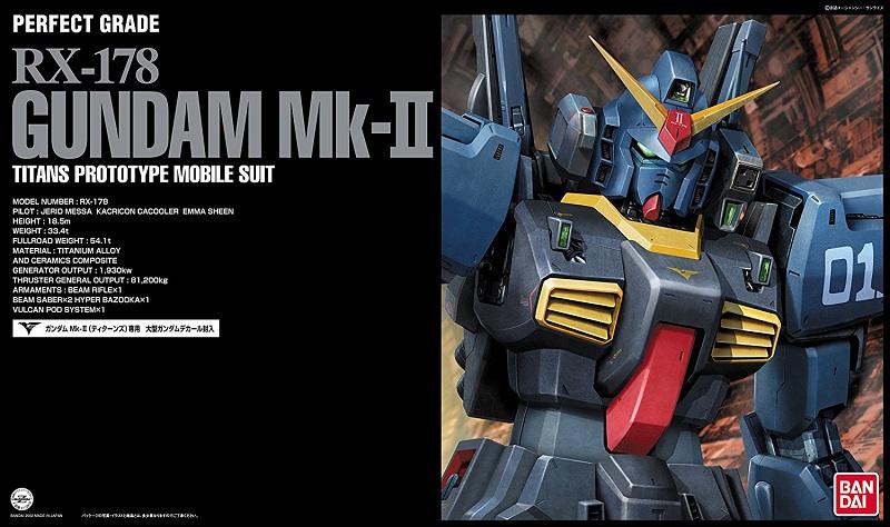 PG GUNDAM RX-178 MK II TITANS BLACK 1/60