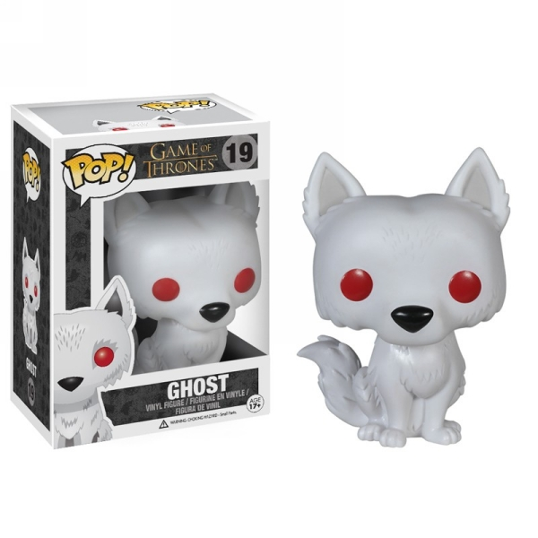 Funko POP! - Game Of Thrones: Ghost Vinyl Figure 10 cm