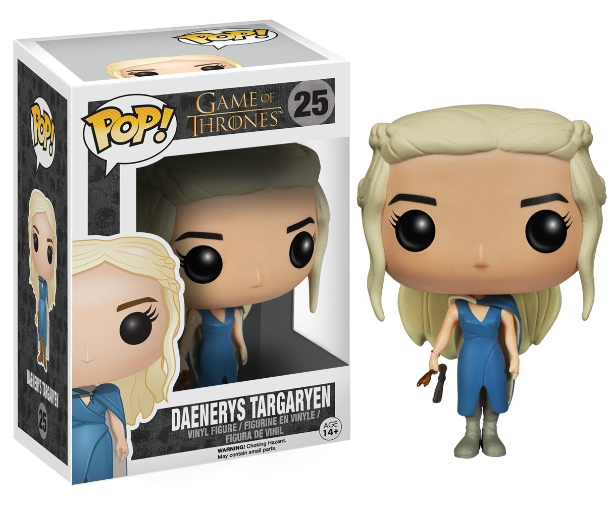 Funko POP! Game Of Thrones - Daenerys Targaryen In Blue Dress 10 cm
