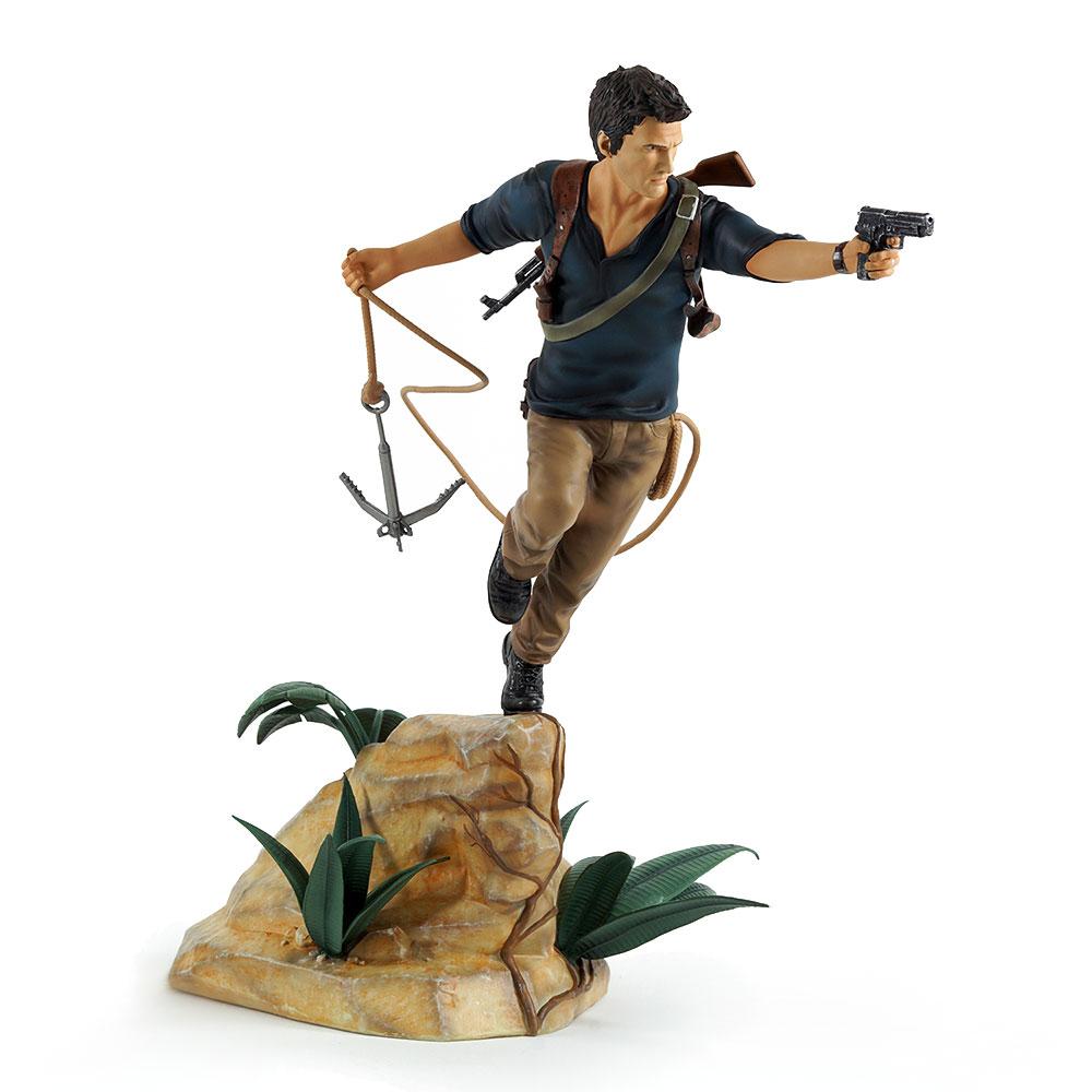 Estátua PVC Uncharted 4 - Nathan Drake 30 cm
