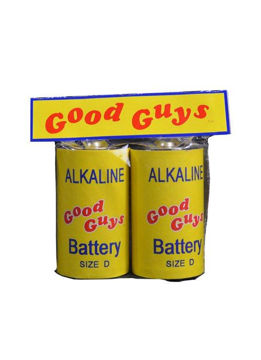 Child's Play 2 Replica 1/1 Good Guys Batteries