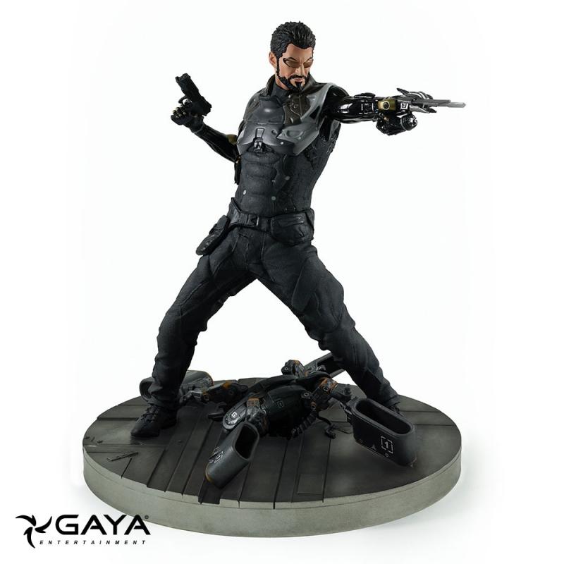 Estátua PVC Deus Ex: Mankind Divided - Adam Jensen 21cm