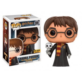 Funko POP! Movies - Harry Potter: Harry with Hedwig - Vinyl Figure 10 cm