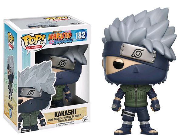 Funko POP! Animation - Naruto Kakashi Vinyl Figure 10 cm