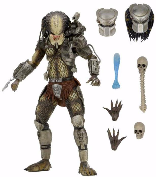 Action Figure Predator - Jungle Hunter Predator Ultimate 20 cm