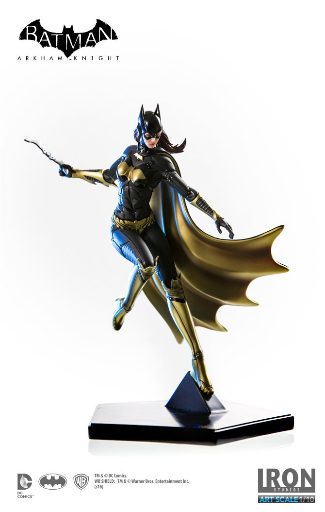 Estátua Batman Arkham Knight 1/10 Batgirl 20 cm