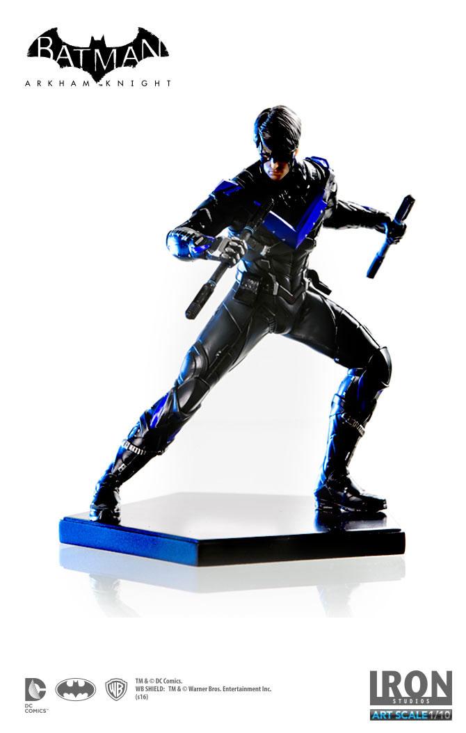 Estátua Batman Arkham Knight 1/10 Nightwing 16 cm