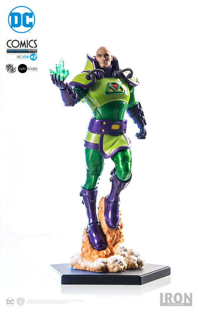 Estátua DC Comics 1/10 Lex Luthor 24 cm