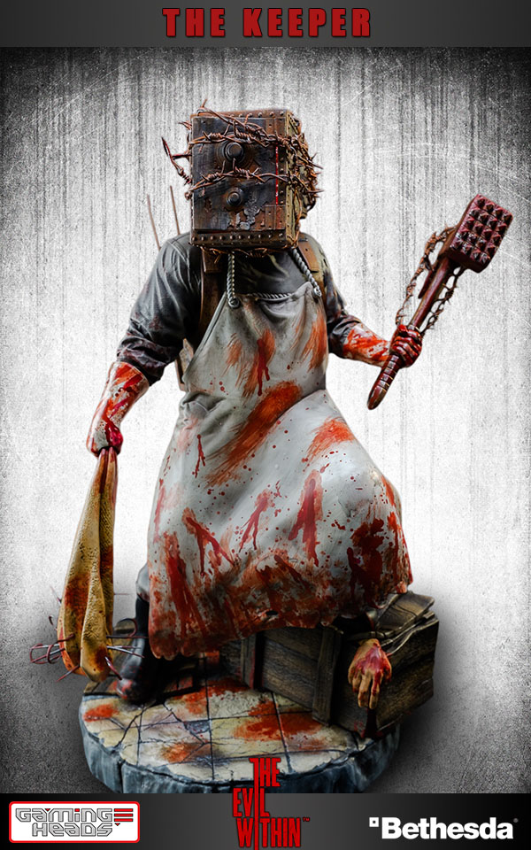 The Evil Within Statue The Keeper Limited Edition 38 cm