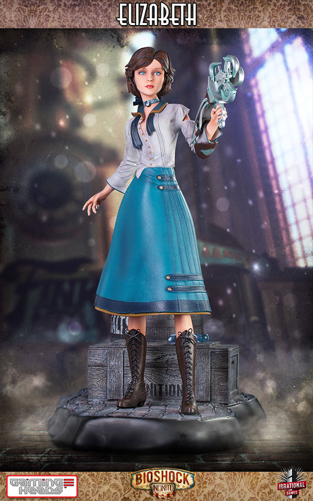 Estátua BioShock Infinite 1/4 Elizabeth Limited Edition 46 cm
